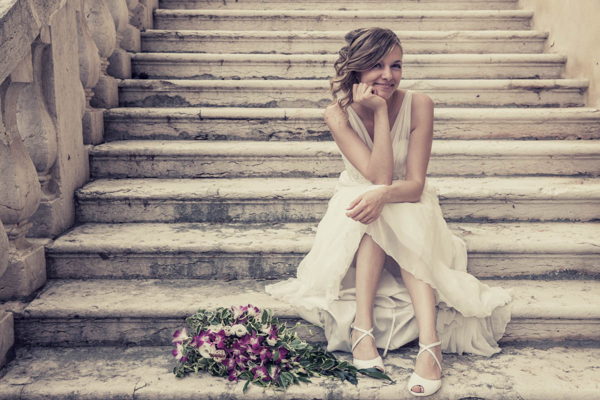 La sposa - Fotografo appassionato a Verona e sul lago di Garda