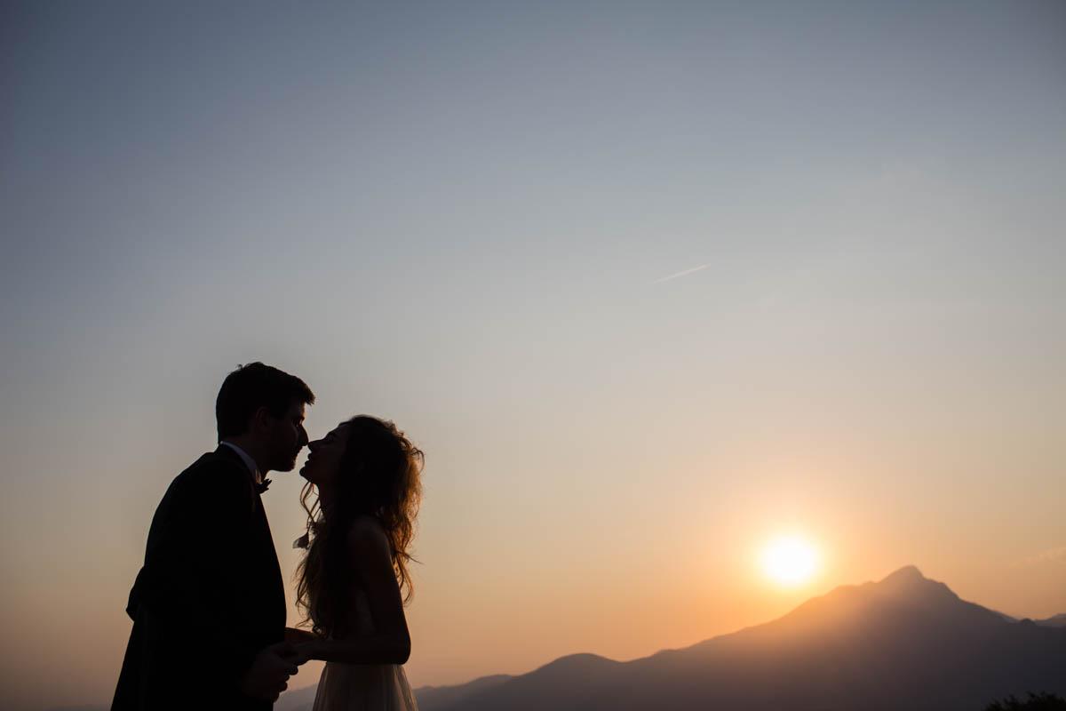 Servizio fotografico di coppia Lake Garda, Monte Baldo, Verona - wedding Gian Luigi Pasqualini