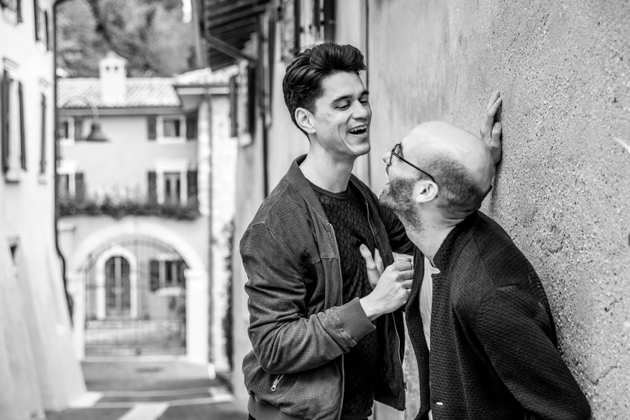 LGBTQ wedding photographer in Verona Same Sex Engagement at Lake Garda – Gay Destination