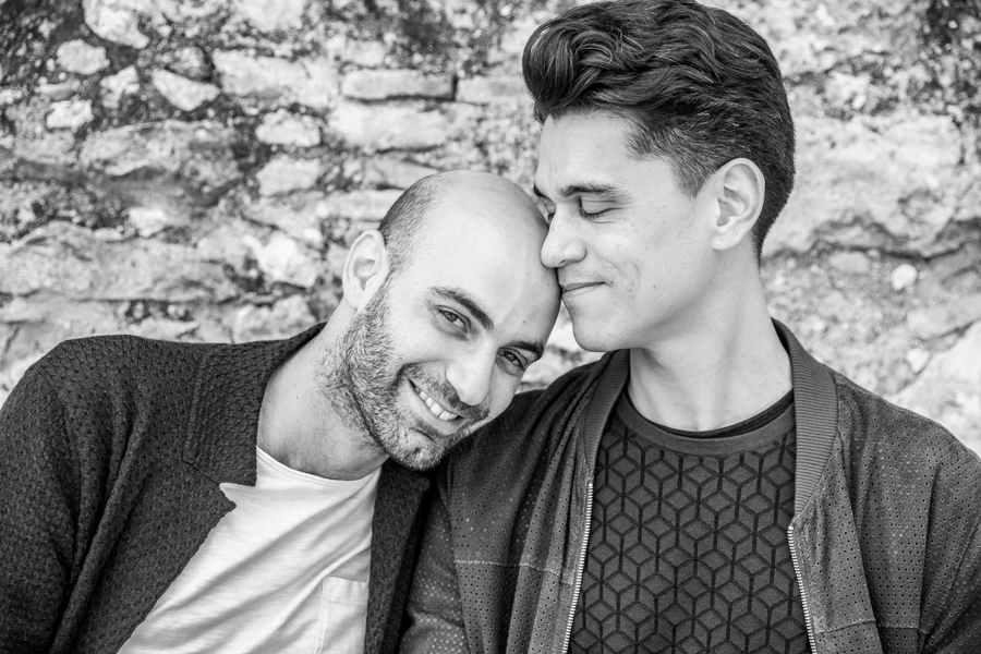 Awesome and creative gay, lesbian and trans wedding photography in Verona and Lake Garda area