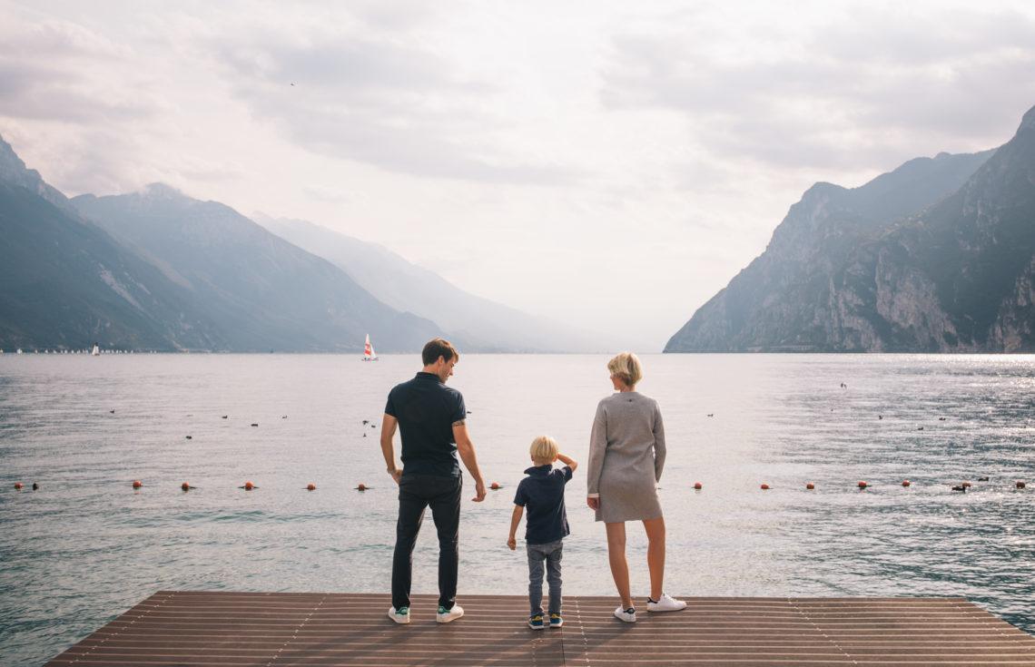 Family Photos at Lake Garda with the Local Photographer