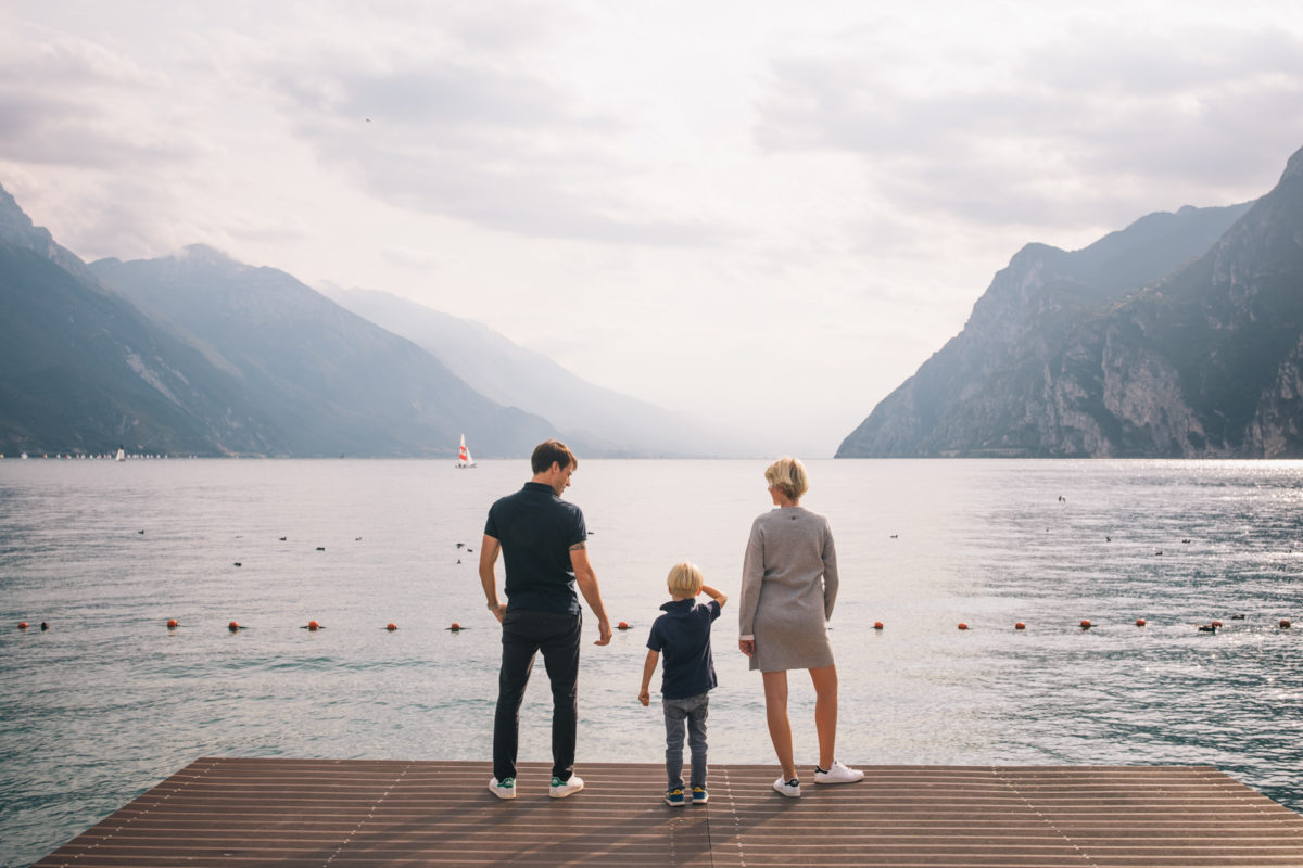 Family Photos at Lake Garda with the Local Photographer