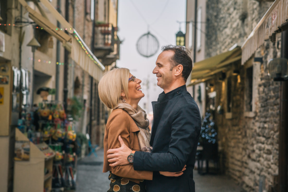Couples portraits in Lazise