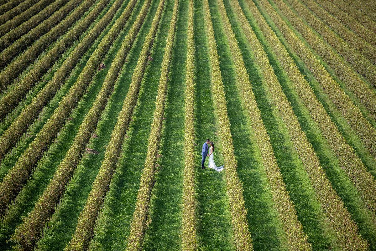 Professional wedding photographer. Wedding in countryside valpolicella Verona