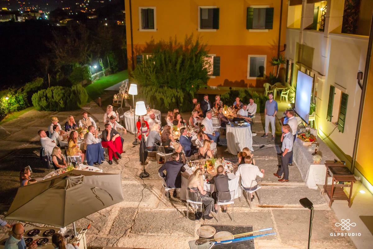 festa di matrimonio alla Fonte degli Dei - Negrar - Valpolicella - Verona