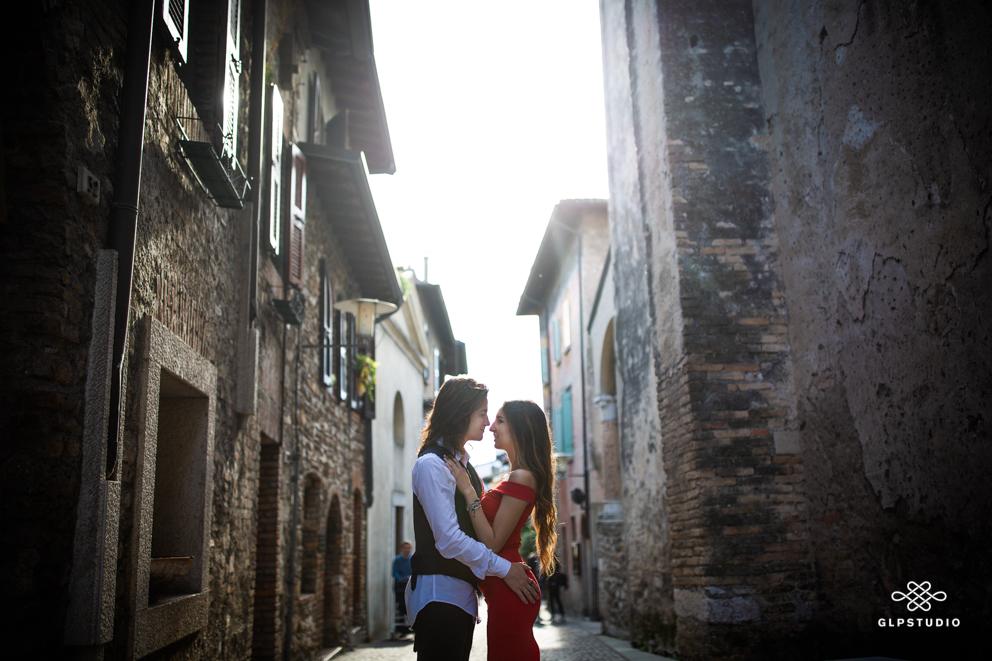 Engagement photographer Gian Luigi Pasqualini in Sirmione - Lake Garda - Verona - Brescia - Mantova