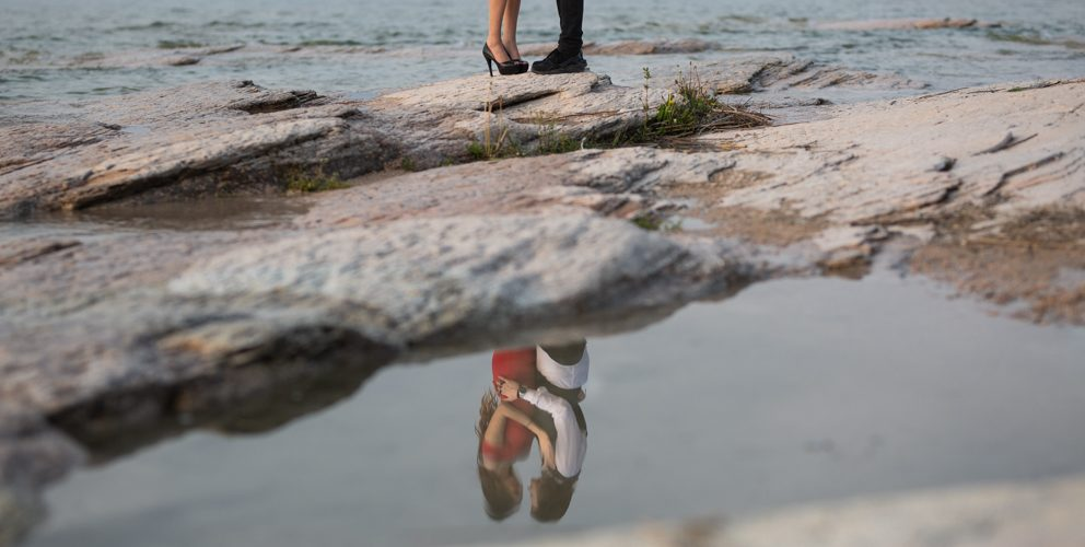 Couple photoshoot in SIRMIONE