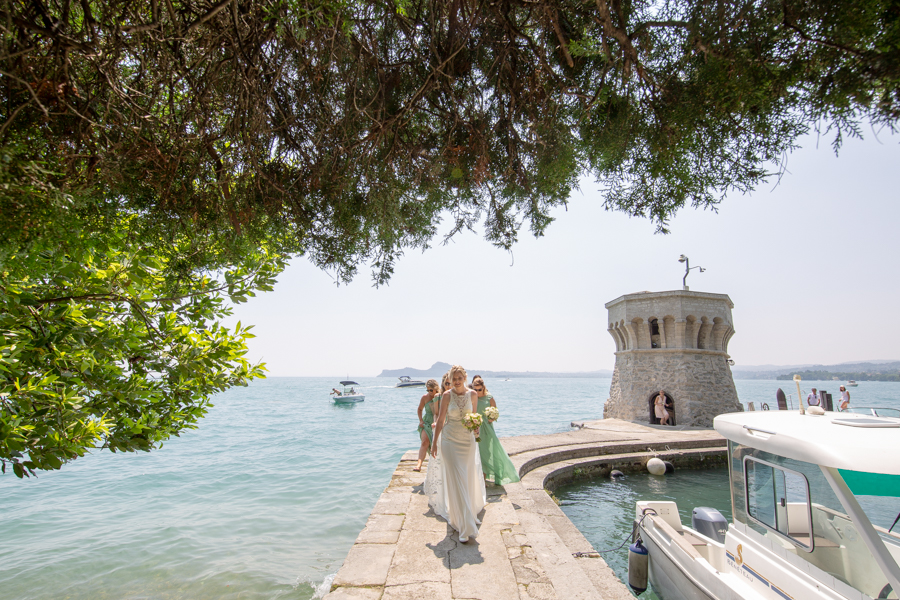 Fotografo matrimoni all'Isola del Garda - Photo Service Isola del Garda - Best location for wedding in Italy on Lake Garda