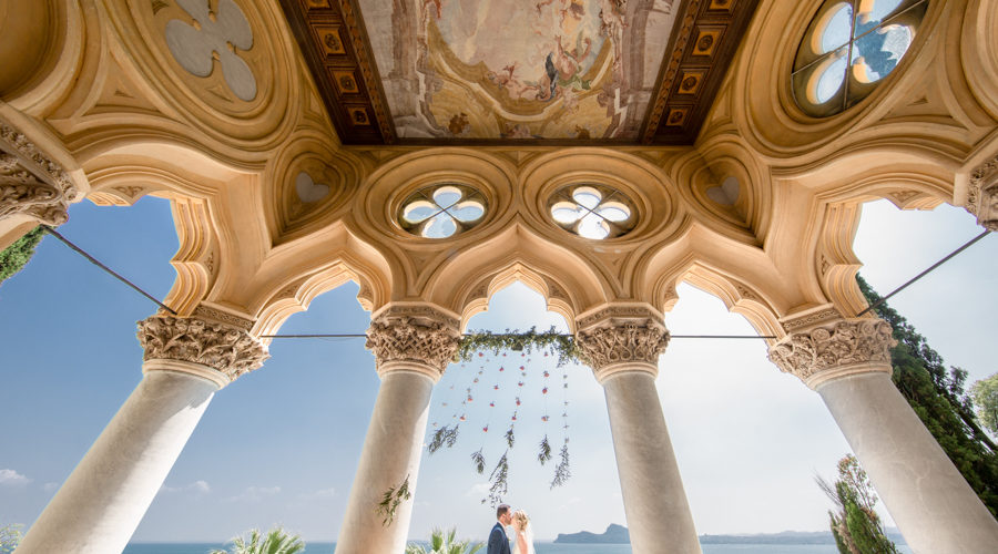 Professional wedding photographer. Matrimonio sull'isola del Garda - San Felice del Benaco - Brescia