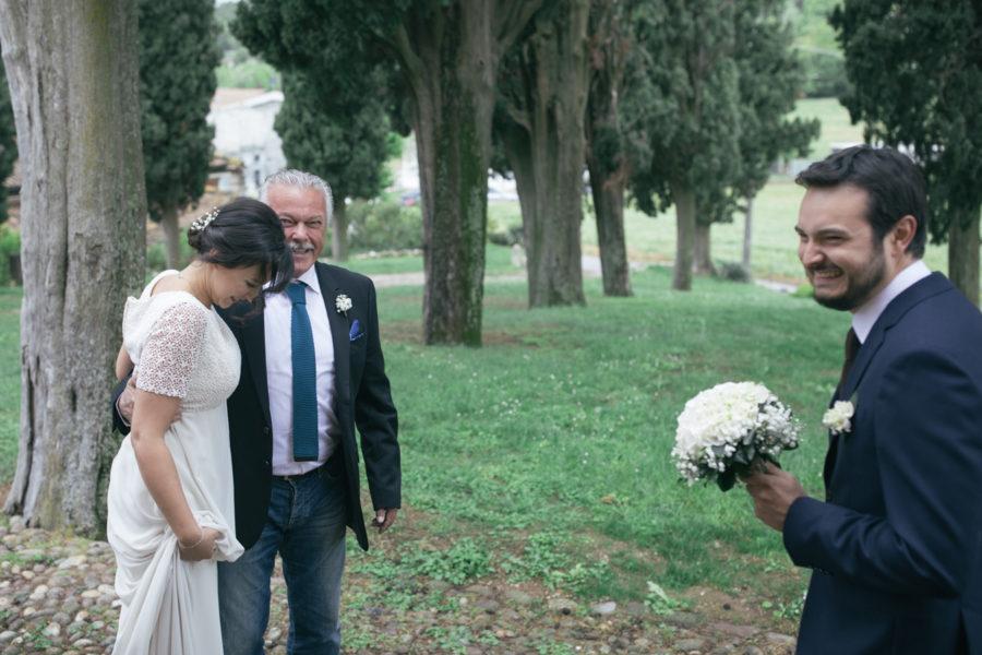 fotografo matrimoni nozze cerimonia Chiesa di Sant'Anna in Cavriana Mantova