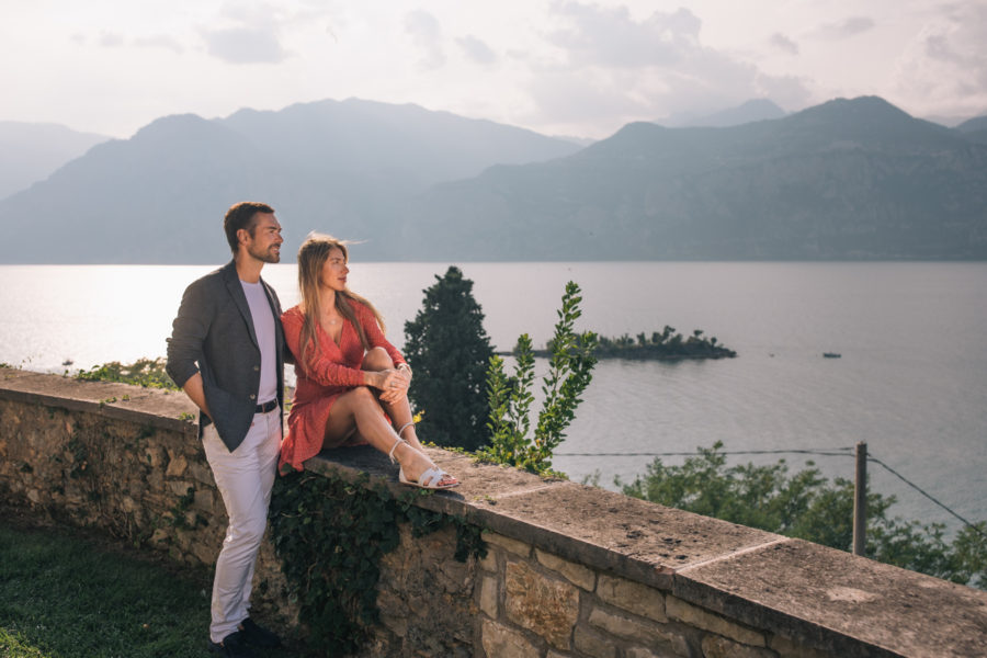 Wedding and portrait photographer on Lake Garda, Italy