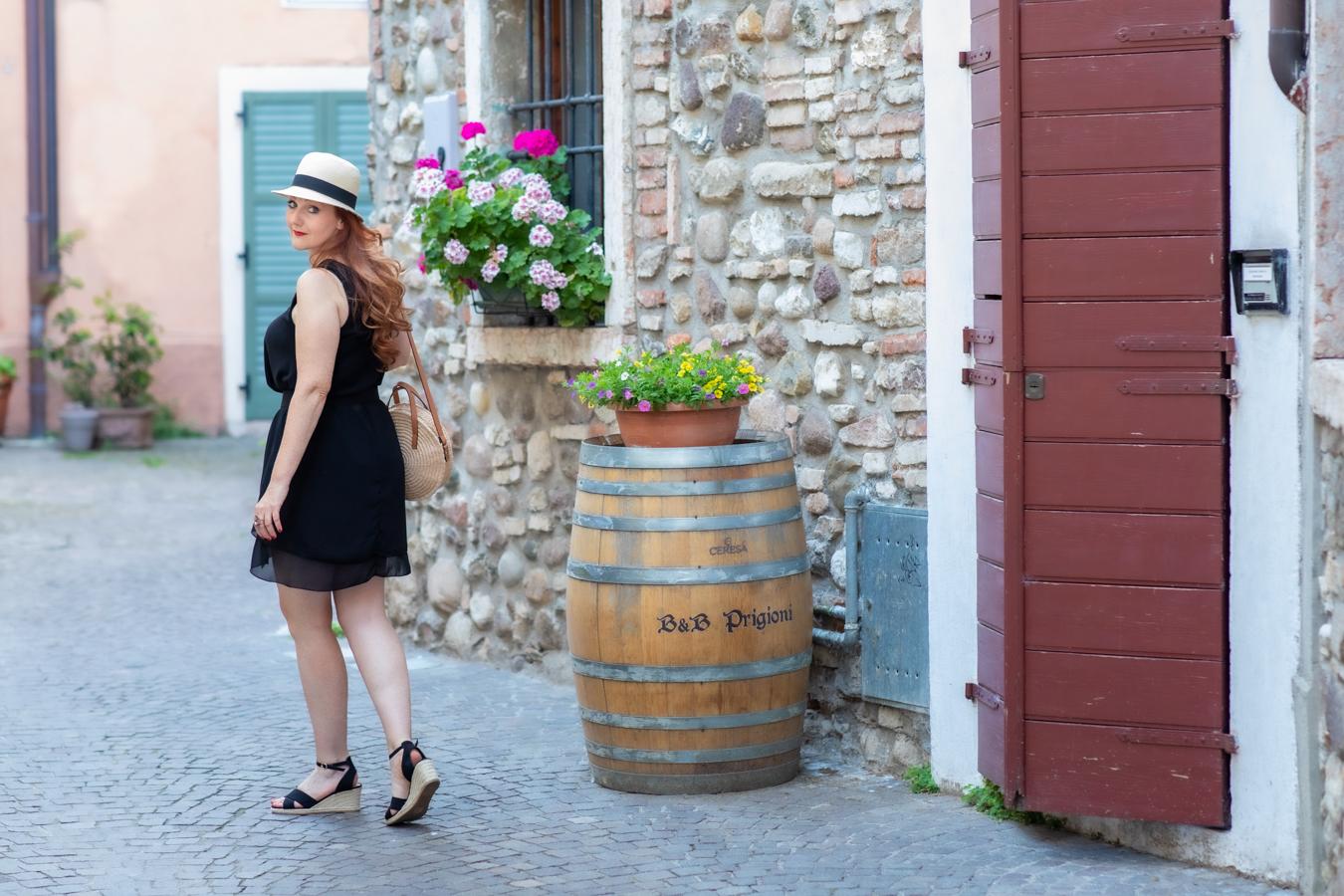 Book Fotografico per Fashion Blogger e brand Lago di Garda