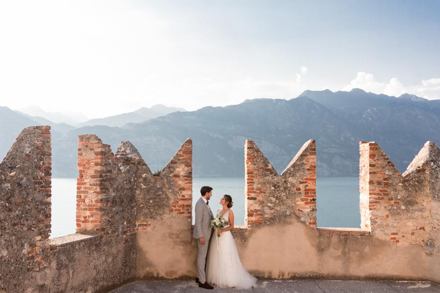 Fotografo professionista nozze Malcesine