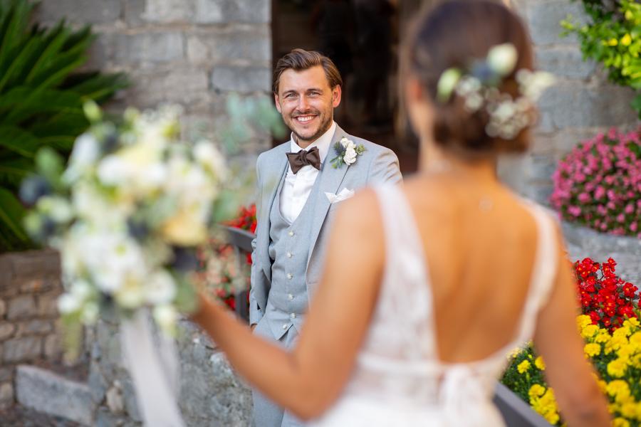 Servizio Fotografico di Matrimonio al Castello Scaligero di Malcesine