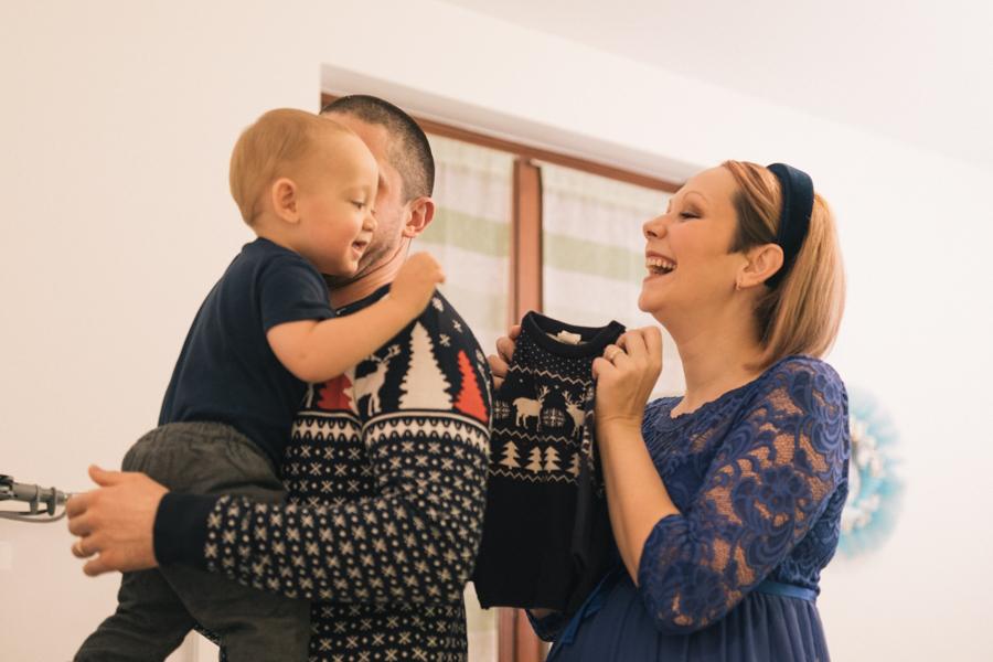 foto di famiglia e gravidanza nell'intimo della tua casa