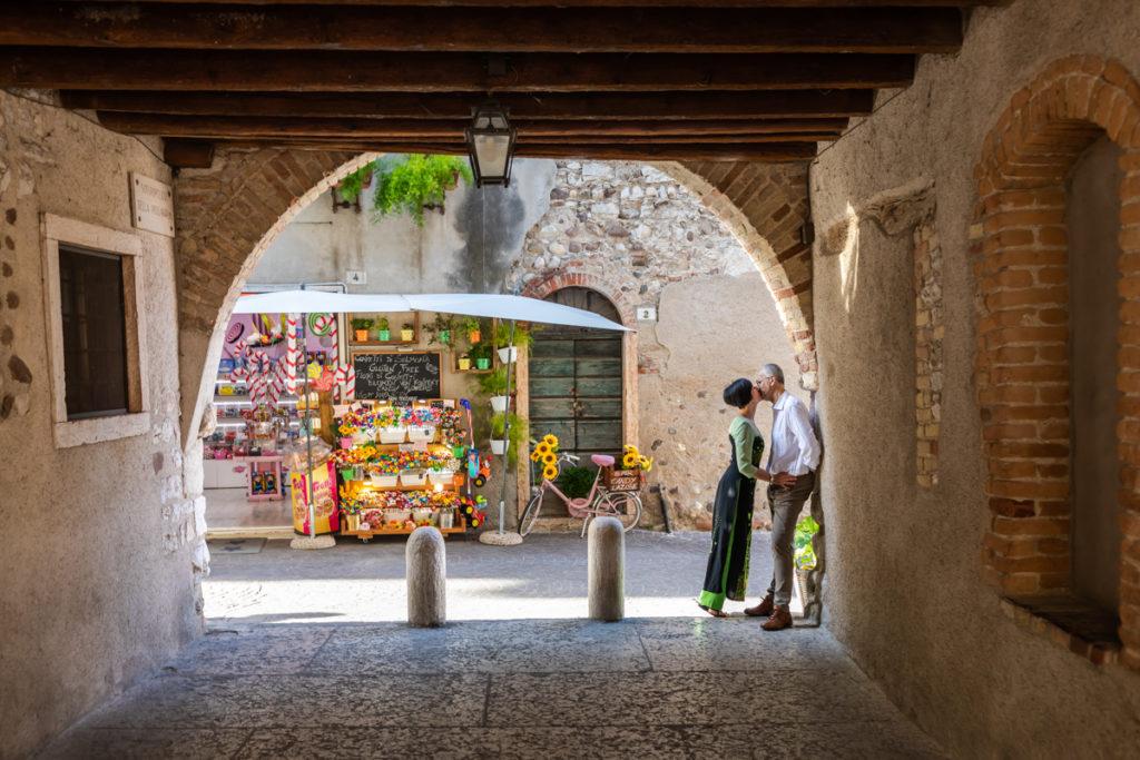 Photographic Services - Photo portraits of couples Lazise, Lake Garda